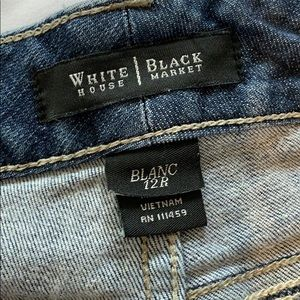 White House Black Market Bootleg jeans size 12R